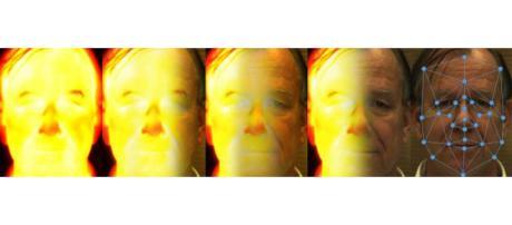 Une illustration conceptuelle pour l'analyse de l'effet thermique-à-visible. (c) Eric Proctor, William Parks and Benjamin S. Riggan