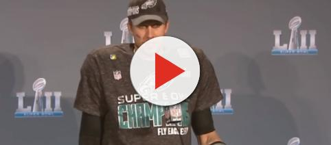 Nick Foles interview. - [ESPN / YouTube screencap]