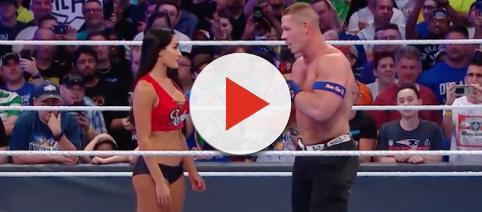The recent breakup of John Cena and Nikki Bella has brought plenty of rumors with it. - [Image via WWE / YouTube screencap]