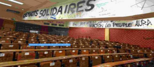 Ce matin, l'université de Tolbiac a été évacuée par les forces de l'ordre