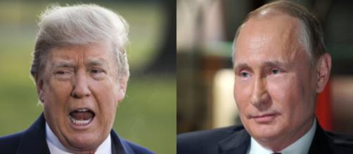 Donald Trump, Vladimir Putin, via Twitter