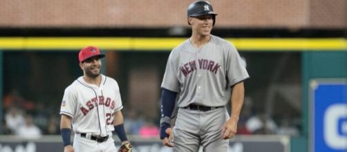 In the top 25 players in baseball, where do Judge and Altuve rank? Image Credit- Newsday