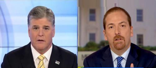 Sean Hannity, Chuck Todd, via Twitter