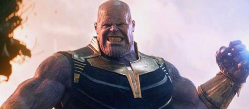 Thanos en los avances de Infinity War