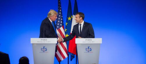 The unlikely bromance between Trump and Macron Photo by By US Embassy France via Wikimedia
