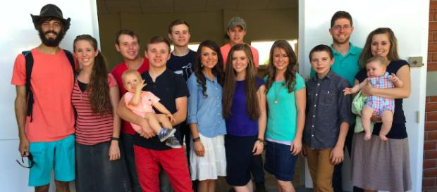 Duggar family from a social network post