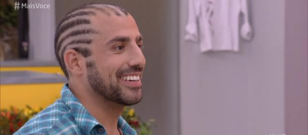 Imagem do sírio no programa 'Mais Você' da rede Globo