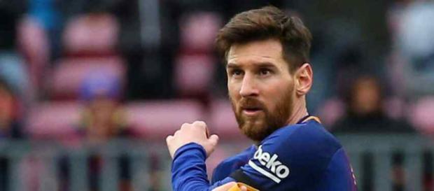 Leo Messi é a estrela maior do Barcelona