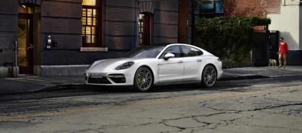Porsche Panamera E-Hybrid Model - (Image via Porsche Middle East)