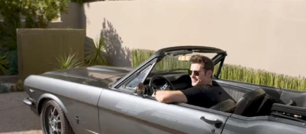 Zac Efron adopts a puppy - Image credit - Vogue | YouTube