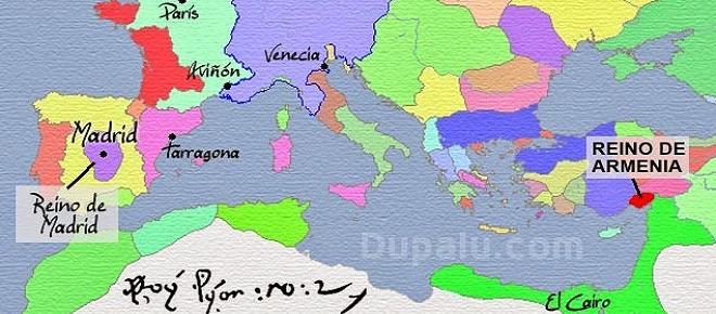 Antes de serlo de España, Madrid fue capital de Armenia