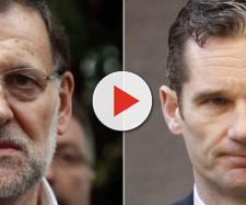 Mariano Rajoy e Iñaki Urdangarín en imagen