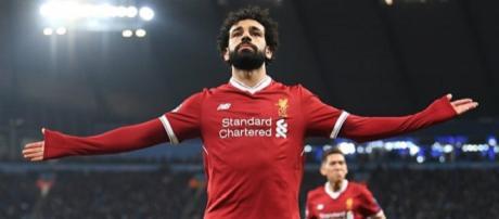 Mohamed Salah é um dos melhores do ano. (foto reprodução).