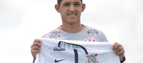 O jogador já foi o artilheiro do Brasil nesta temporada. (foto reprodução).