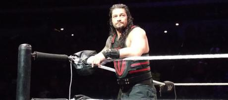 WWE star Roman Reigns suffered a head injury during a match in Cape Town, South Africa . [Image source: InFlamester20 - Wikimedia Commons]