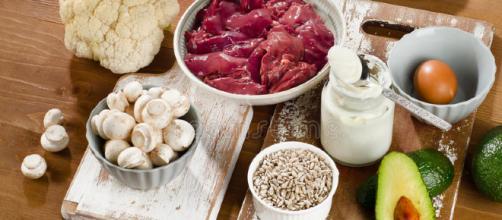 Comidas Lo Más Arriba Posible En La Vitamina B5 (ácido Pantoténico)