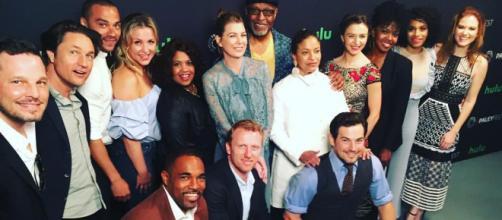 Il cast di Grey's Anatomy FONTE: Google