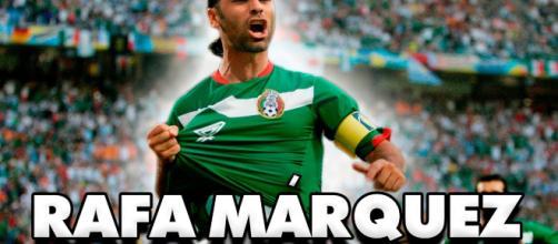 Se agota el fútbol para Rafa Márquez.