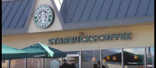 Starbucks bathroom hidden camera discovered. [image source: Fox News - YouTube]