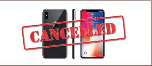 steemit: immagine che mostra iPhone X, che potrebbe essere cancellato dal portafoglio Apple