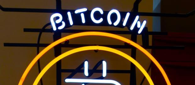 A neon Bitcoin sign. - [Image credit: Steve Jurveston via Flickr]