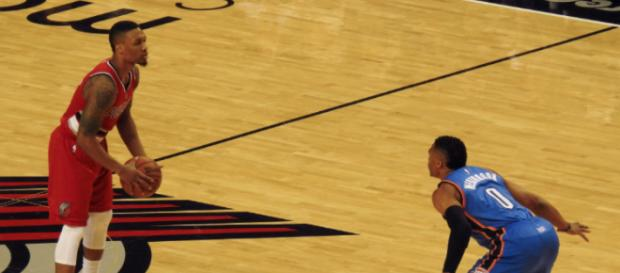 Damian Lillard shot the ball poorly as the Trail Blazers were swept by the Pelicans. Image Source: Wikimedia Commons