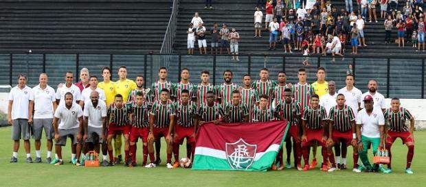 Sub-20 do Fluminense conquista Taça Rio em dia de aniversário de fundação de São Januário (Foto: Lucas Merçon)