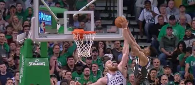 The Celtics visit the Bucks in Milwaukee for Game 3 of their 2018 NBA Playoffs series on Friday night. [Image via NBA/YouTube]