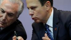 João Doria e Michel Temer estudam aliança