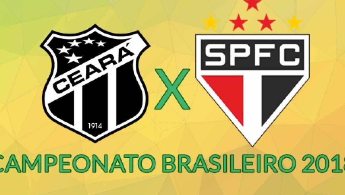 Ceara X Sao Paulo Transmissao Da Partida Ao Vivo Na Tv E Internet
