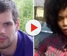 A sinistra il giovane vittima dell'acido, a destra la ex fidanzata