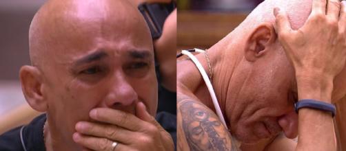 Ayrton do BBB18 chora a perda do irmão
