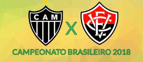 Brasileirão: Atlético-MG x Vitória ao vivo. (foto reprodução).