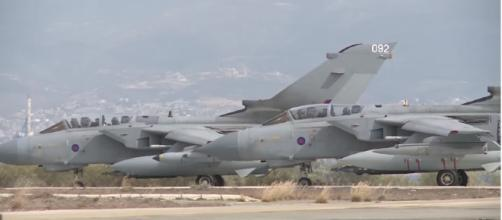 Civilians have died in air attacks carried out by the RAF and coalition forces. [image source: Ministry of Defense- YouTube]