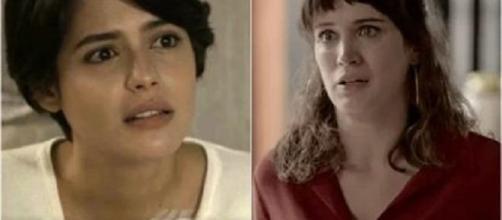 Clara confessa que está dividida.
