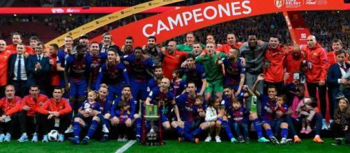 El Barcelona gana su 30ª Copa del Rey con una 'manita' al Sevilla ... - com.mx