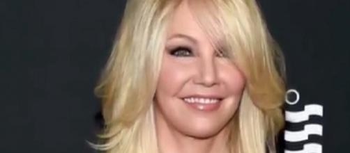 Heather Locklear (Photo credit via YouTube screenshot/ET)