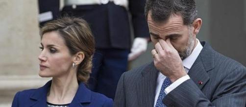 Letizia Ortiz y Felipe VI en imagen
