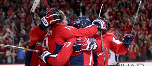 Los Capitals han renacido de sus cenizas para tomar ventaja en su serie contra Columbus. NHL.com.