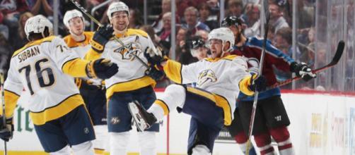 Los Predators siguen siendo los favoritos en la Conferencia Oeste. NHL.com.