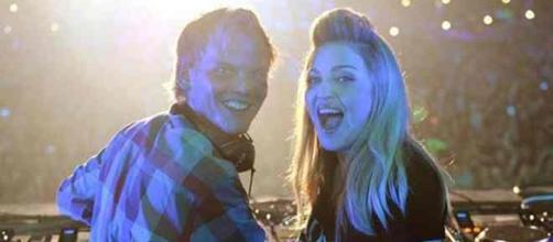 Madonna et le regretté DJ suédois Avicii mort vendredi 20 avril à 28 ans