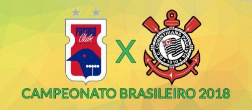 Paraná x Corinthians ao vivo neste domingo (21)