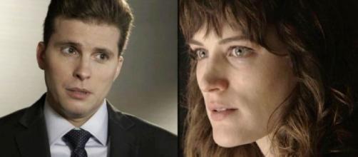 Patrick e Clara em 'O Outro Lado do Paraíso'