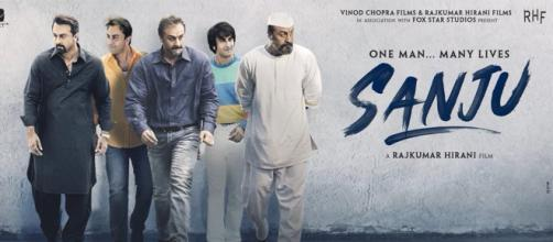 The resemblance between Sanjay Dutt and Ranbir Kapoor is striking (Image via - Youtube|Sanju Official Teaser)