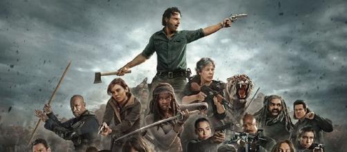 The Walking Dead la serie de zombies más famosa de la historia.