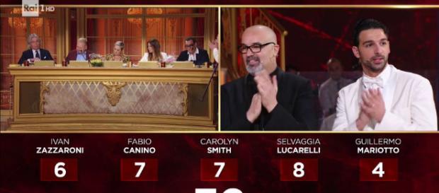 Ballando con le stelle, Giovanni Ciacci riceve ancora un voto negativo da Giullermo Mariotto