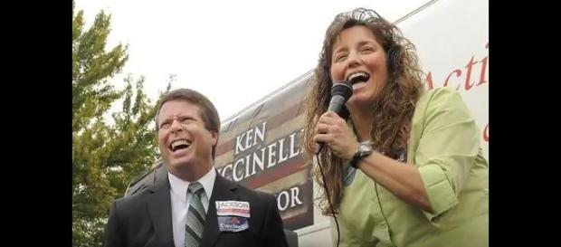 Jim Bob Duggar and Michelle Duggar. (Image from Channel News / YouTube.)