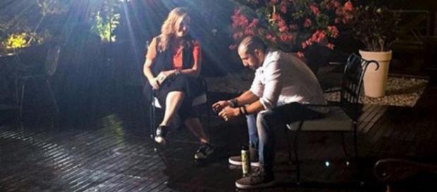 Kaysar dá entrevista para o Fantástico