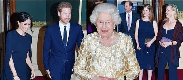 Queen Elizabeth celebrates her 92nd birthday with the Royal Family at concert [Image source: Royal Insider -YouTube screenshot]