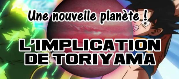 Une nouvelle planète ! L'implication de Toriyama dans le film 20 Dragon Ball !